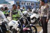 Pengamanan Idul Adha, Kasat Lantas Pekanbaru Cek Kesiapan Ranmor Dinas