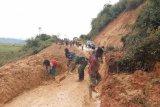 Hujan deras akibatkan tanah longsor di Sentani