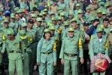 Pemkab Dharmasraya Latih Kemampuan Bertugas Anggota Linmas