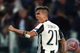 Dua gol Dybala awa Juventus puncak Liga Italia