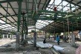 Sisa Dua Bulan, Pembangunan Pasar Higienis Pekanbaru Masih 60 Persen