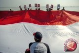 Bendera raksasa bakal dibentangkan di Jembatan KA Progo Temanggung
