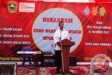 Solok Jadi Kabupaten Pertama Deklarasi Nagari Open Defecation Free