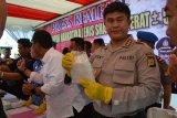Polisi amankan pengedar narkoba di Makassar