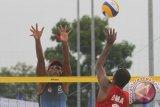 Tim voli pantai putra Indonesia kalahkan Afganistan