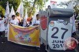 partisipasi pemilih Makassar menurun 2018