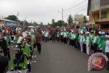 Ribuan Alumni STAI Kapuas dan Masyarakat ikuti Jalan Santai
