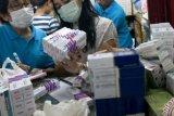 Pekanbaru telah distribusikan 134.000 lembar masker