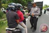 Polres Agam Tilang 405 Kendaraan Selama Operasi Zebra, Didominasi Pengendara Sepeda Motor