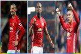 Ibrahimovic, Pogba dan Rojo Akan Diturunkan Saat Lawan Newcastle