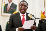 Presiden Mnangagwa tidak terluka dalam ledakan di pawai politiknya