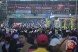Kegiatan HBKB ditiadakan terkait lari maraton Asian Games