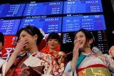 Bursa saham Tokyo ditutup melemah ikuti jejak di Wall Street