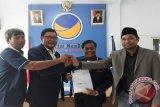 Petahana berjalan kaki mendaftar di KPU Donggala