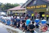 Polisi Amankan Puluhan Pelajar Sampit Terlibat Tawuran [VIDEO]