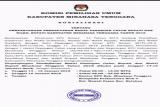 Sosialisasi Perpanjangan Pendaftaran Bakal Calon Bupati dan Wakil Bupati Kabupaten Minahasa Tenggara 2018