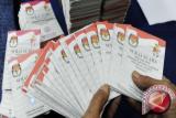 Surat suara pemilu tiba di KPU Makassar