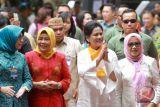 Iriana Jokowi hadiri pemeriksaan IVA di Limboto