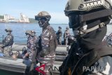 Lantamal Jayapura mantapkan kesiapan prajurit Pamtas-Pamrahwan
