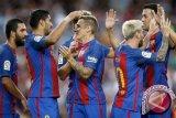 Barca semakin mendekati gelar Liga Spanyol