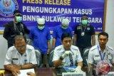 BNNP Sultra Amankan Dua Tersangka Pengedar Ganja
