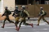 Bentrokan dengan tentara Israel, 32 orang Palestina cedera