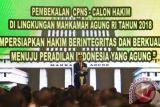Presiden minta hakim utamakan kejujuran dan integritas