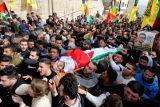 40 demonstran Palestina cedera dalam bentrokan dengan tentara Israel di Jalur Gaza
