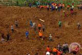 Gerakan tanah Brebes karena kemiringan lereng