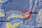 Gempa bermagnitudo 5,0 guncang barat laut Melonguane Sulut
