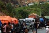 Jalan Riau-Sumbar di Kuok Amblas lagi, Ini Jalur Alternatif