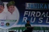 Jefry Noer Ketua Tim Relawan Bapaslon Firdaus-Rusli Effendi (Firli) Sumbang Dana Pribadi