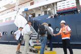 Pelabuhan Belawan kembali disandari kapal pesiar MV Silver Discoverer
