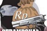Rampok Bersenjata Api Gasak Rp700 Juta di Rohul, 4 Karyawan Ekspedisi Dibekap