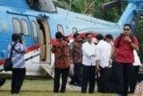 Tiba di Dharmasraya, Presiden Jokowi Mulai Rangkaian Kerja di Ranah Minang