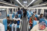 Kereta api premium Sribilah Medan- Rantauprapat dioperasikan