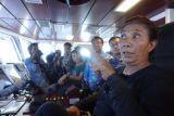 Pesan Menteri Susi dari Kapal Rainbow Warrior