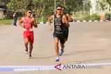 Jauhari johan juarai Palembang Triathlon 2019