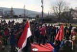 'Flash mob' angklung di Praha kesankan warga Ceko