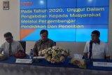Menteri PPN kuliah umum di Untad Palu