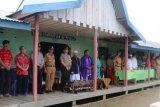 Kapolres Inhil Ikut Deklarasi Anti Hoax di Pesantren Daarul Rahman Tempuling