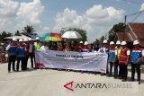 Pertamina perbaiki jalan langkat Sumut