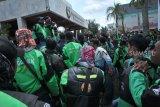 Go-Jek: Mitra pengemudi fokus kerja ketimbang demo saat Asian Games