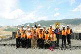 Kemajuan perkembangan Smelter Amman Mineral sesuai rencana