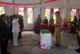 Bupati Sitaro Lantik Dua Penjabat Kapitalau di Tagulandang