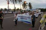 Prosesi pembukaan Yubileum 150 tahun di Kevikepan Manado