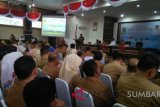 Sijunjung ikut monitoring pencegahan korupsi digelar KPK