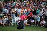 Tiger Woods juara turnamen golf  di Augusta National
