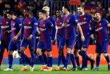 Barca mendekati rebut gelar Liga Spanyol