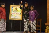 Ganjar bermain ketoprak di tobong Rembang